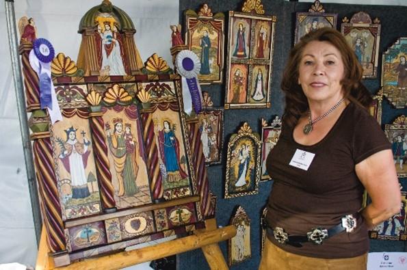 Traditional Spanish Market Awards Recipients