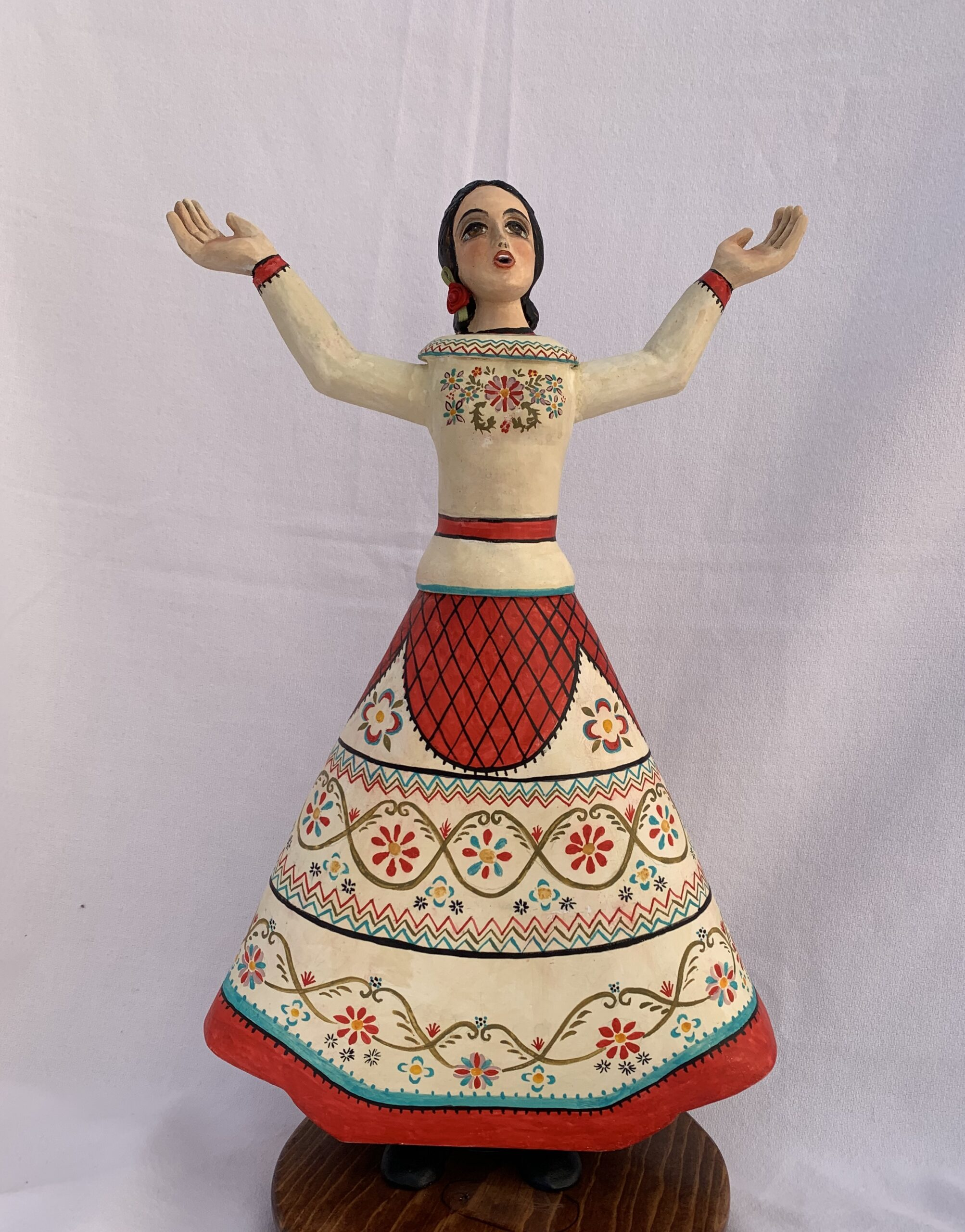 """""""Cantar es Rezar (Santa Cecilia)"""" by Lorrie I. Garcia"""
