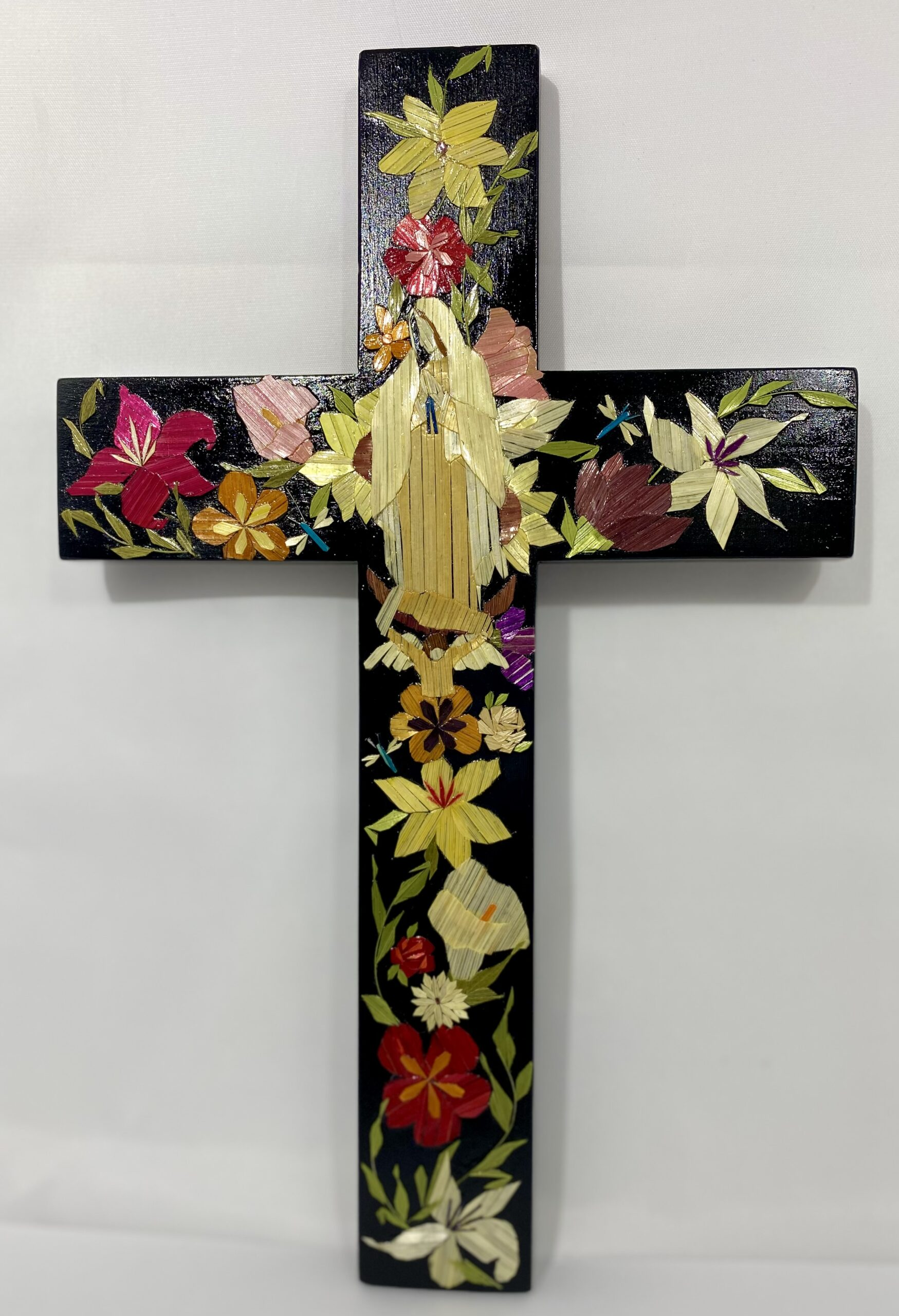 """""""Nuestra  Señora De Guadalupe En El Jardín de Flores"""" by Lenise Lujan-Martinez"""