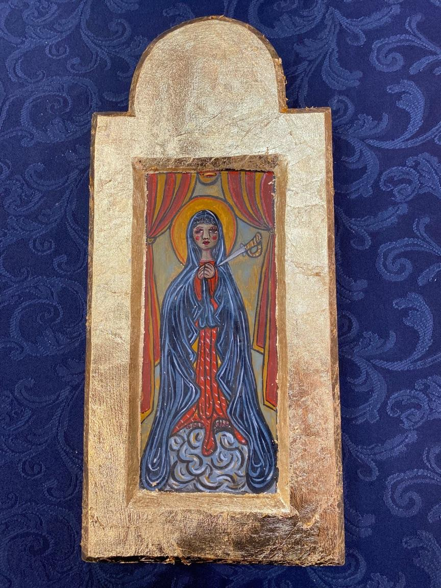 """""""Our lady of Sorrows"""" by Jose A Lucero"""