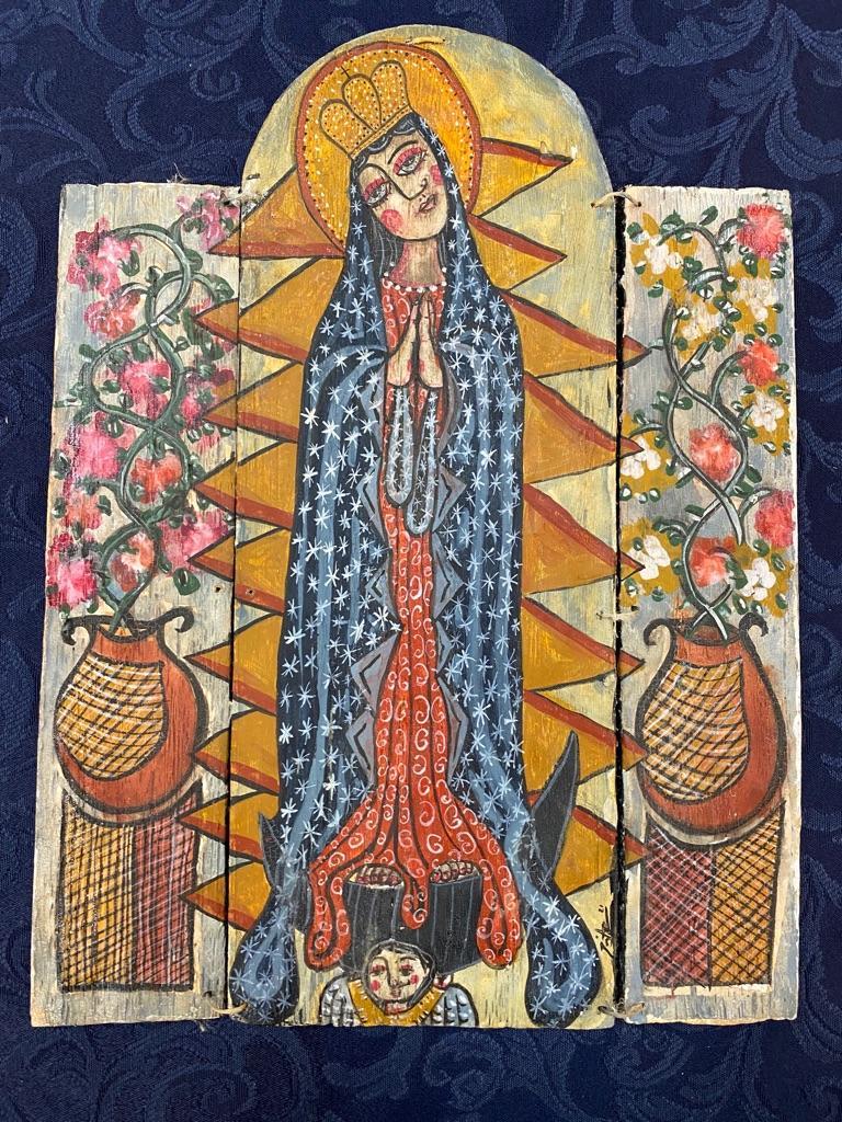 """Nuestra Senora de Guadalupe"" by Jose A Lucero"