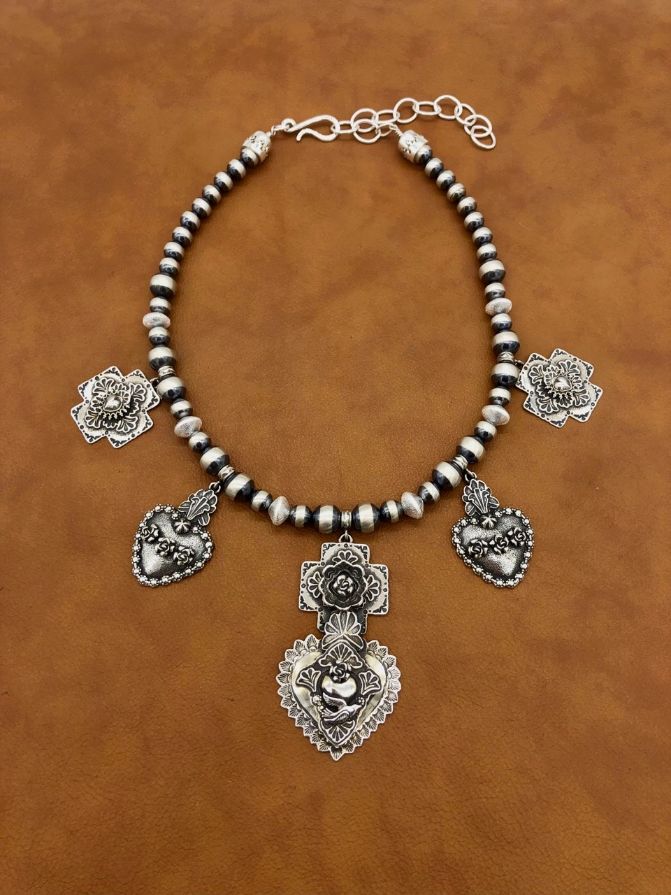 """""""Sacred Heart Necklace"""" by Gregory P Segura"""