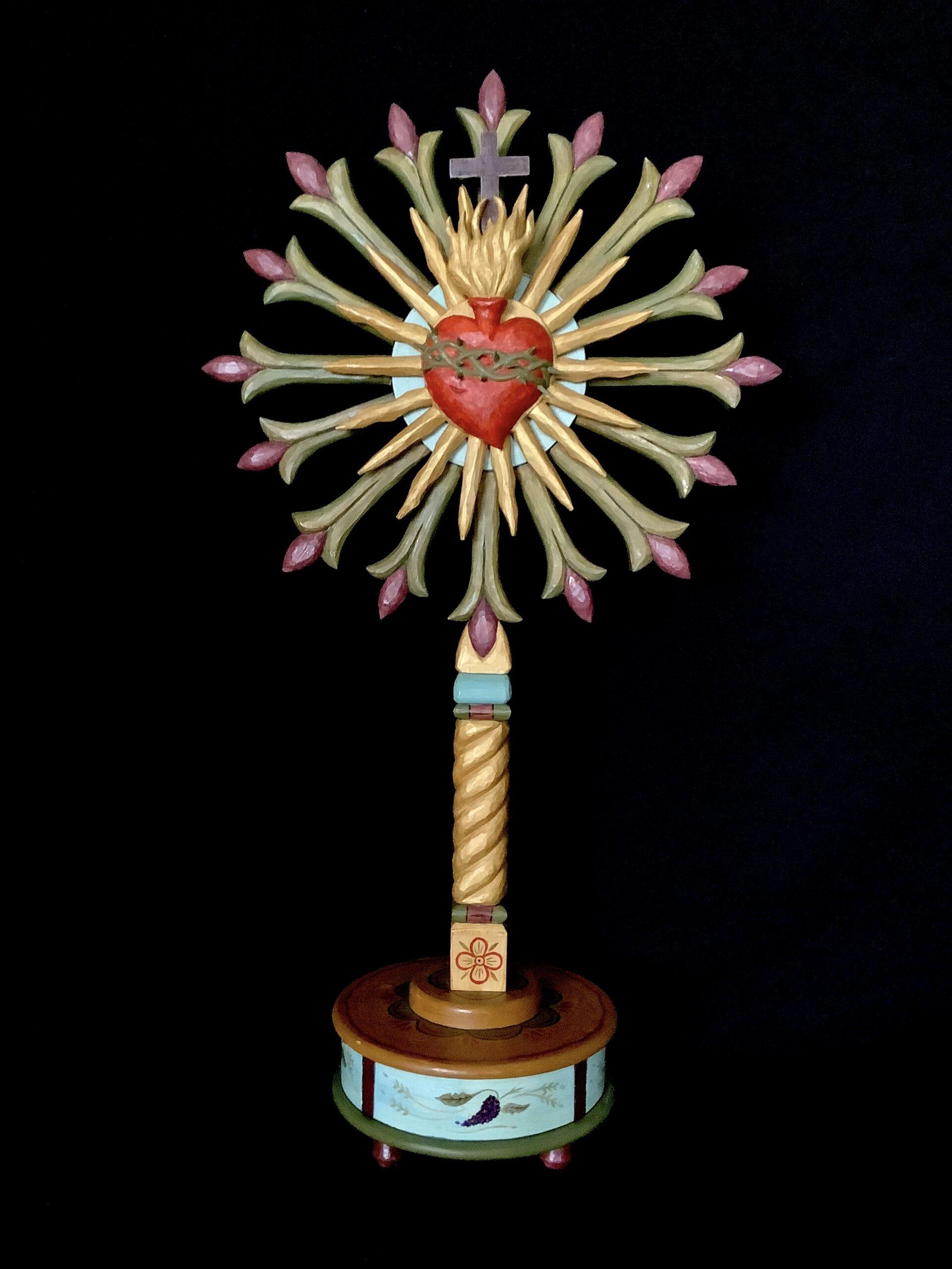 """""""Sagrado Corazon de Jesus"""" by Federico Prudencio"""
