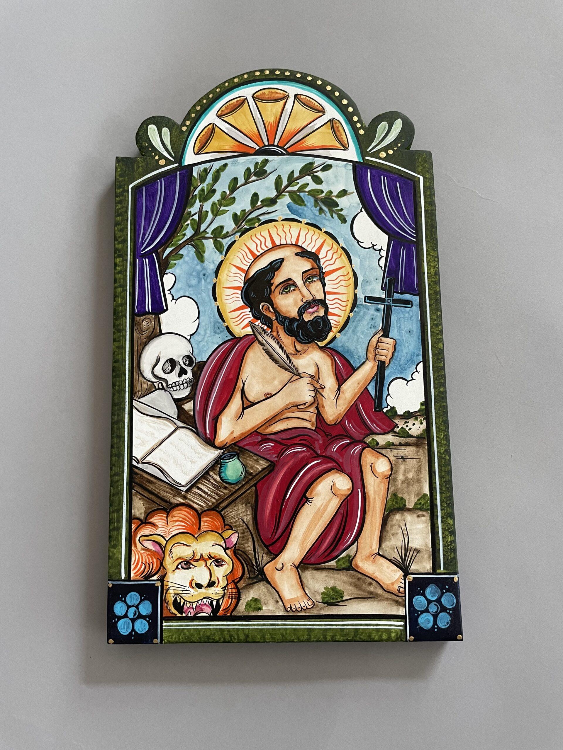 """Saint Jerome"" by Andrew R Montoya"