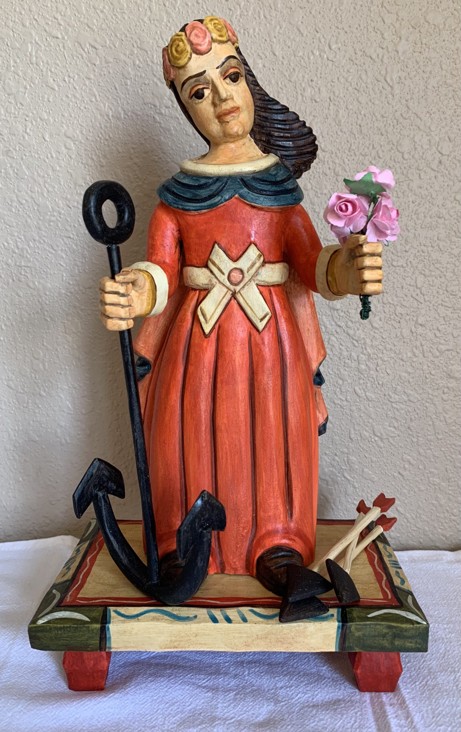 """Saint Philomena"" by Mark Garcia"