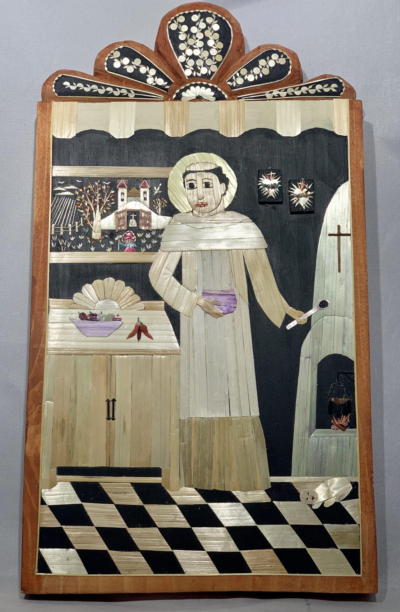 """""""San Pasqual en la Concina"""" by Diana Moya Lujan"""