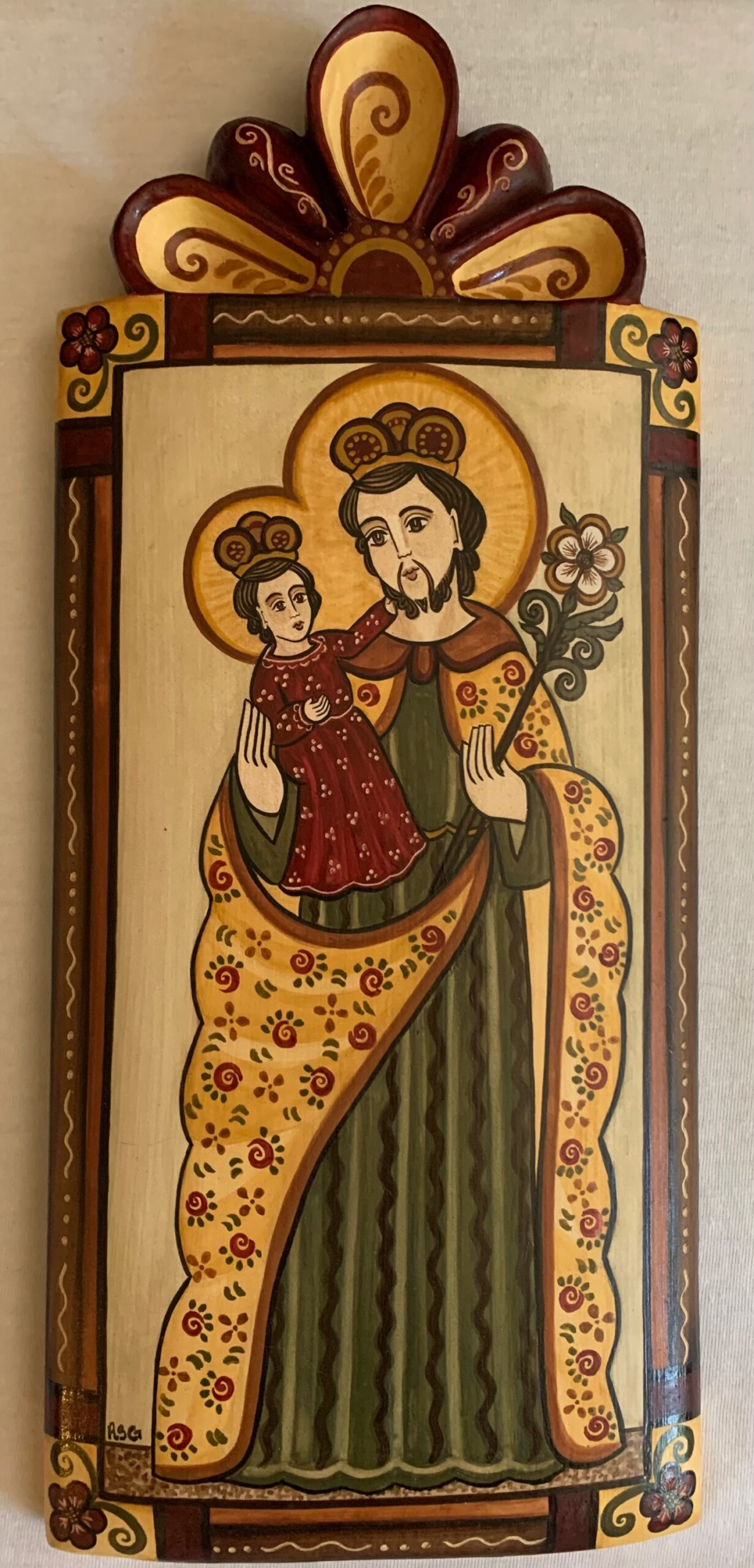 """Santo Nino de Prague"" by Roxanne Shaw-Galindo"