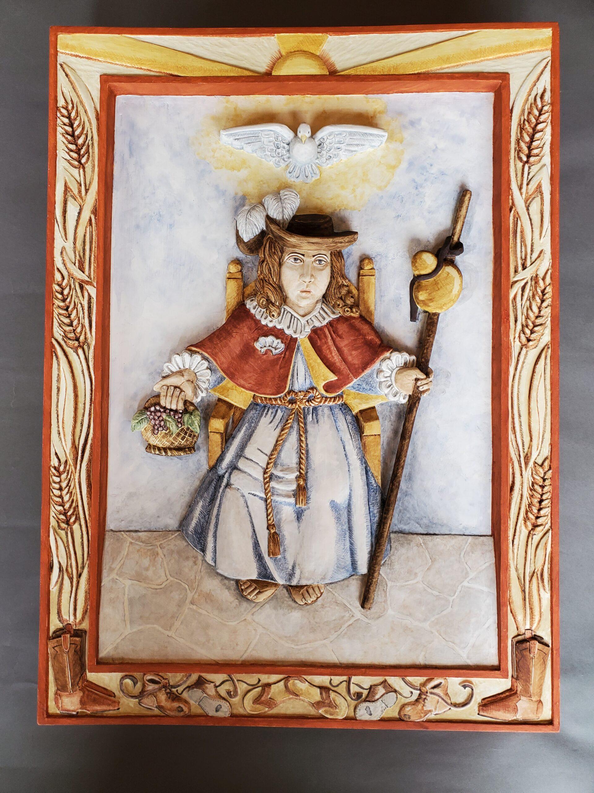 """Santo Nino"" by Jean Anaya Moya"